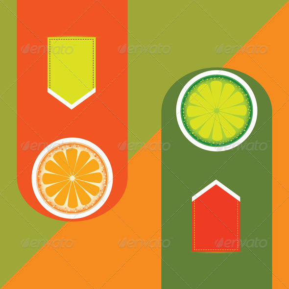 Orange and Lime - Stock Photo - Images
