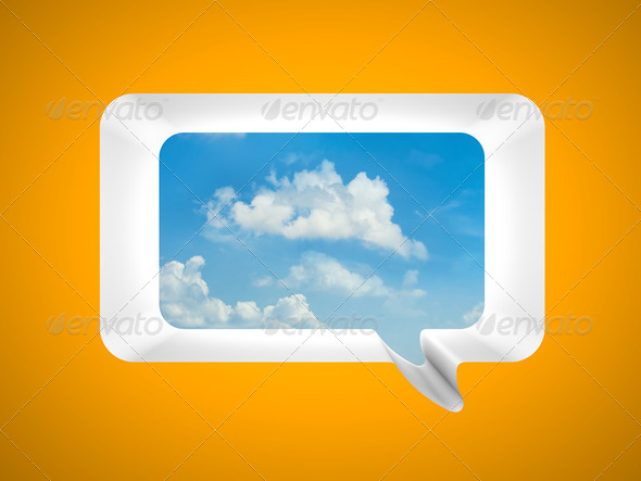 Communication metaphor - Stock Photo - Images