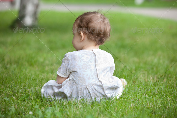 ChildÊin a park - Stock Photo - Images