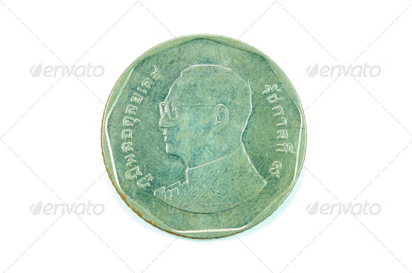 Thai coin - Stock Photo - Images
