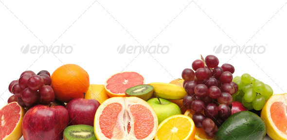 fresh fruit - Stock Photo - Images