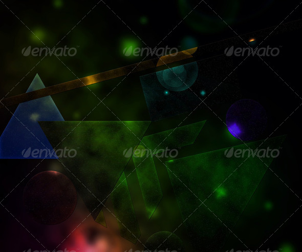 Space Abstract Background - Stock Photo - Images