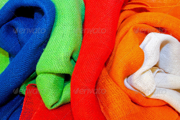 Colorful cloth - Stock Photo - Images