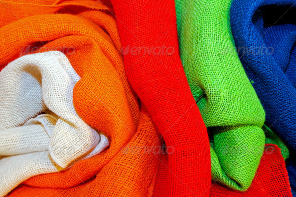 Color cloth - Stock Photo - Images
