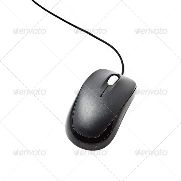 Computer mouse isolated - Stock Photo - Images