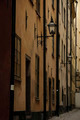Dark alley in Stockholm old town - PhotoDune Item for Sale