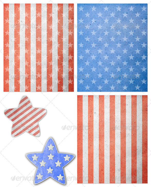 The fourth of july independence day - Stock Photo - Images