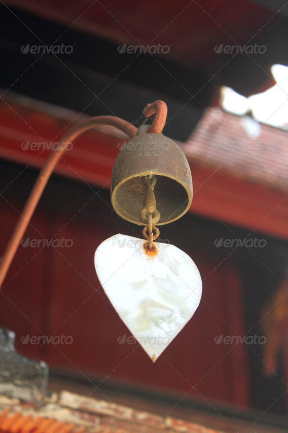The ancient bell - Stock Photo - Images