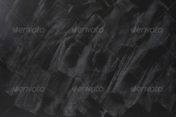 Smudged blackboard background with copy space - Stock Photo - Images