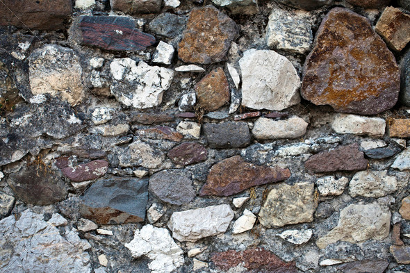 Stone Wall - Stock Photo - Images