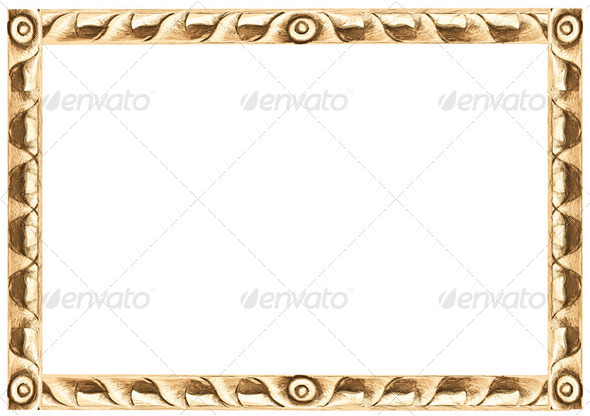 carved frame - Stock Photo - Images