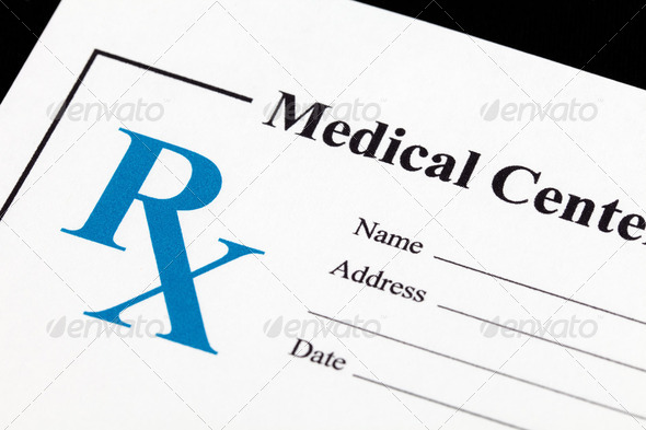 Prescription Medicine - Stock Photo - Images
