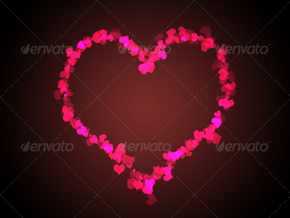 Loving heart - Stock Photo - Images