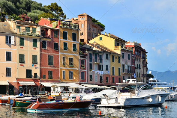 Portofino, Italy - Stock Photo - Images