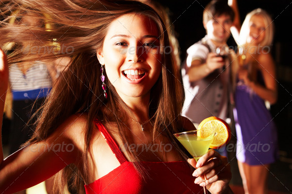 At party - Stock Photo - Images