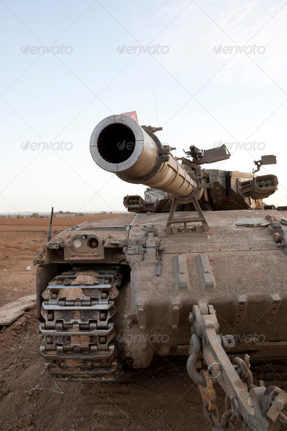 Battle Tank - Stock Photo - Images
