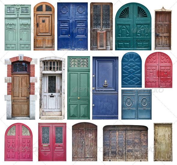 Old Wooden Doors Stock Photo By Photomaru PhotoDune