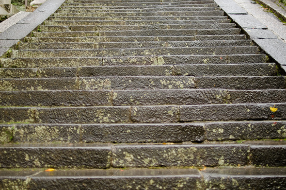 Background pattern of stairs leading upwards - Stock Photo - Images