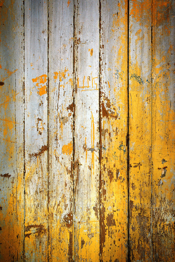 Peeling Door - Stock Photo - Images