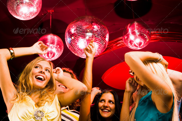 Stock Photo - PhotoDune Dancing ladies 361023