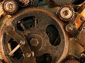 view of gears from old mechanism - PhotoDune Item for Sale