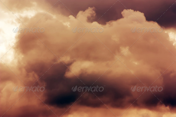 Dramatic Cloudscape 3 - Stock Photo - Images