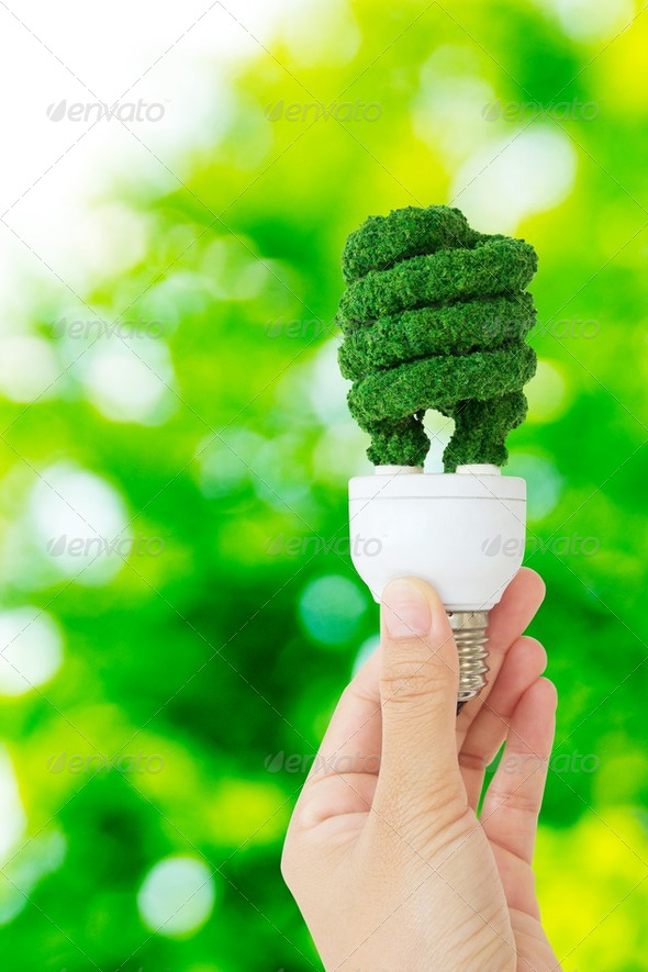 eco energy concept  - Stock Photo - Images