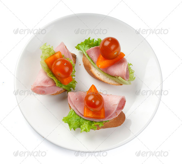 Canape - Stock Photo - Images