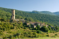 Abandoned village in the Pyrenees mountain, Catalonia, Spain - PhotoDune Item for Sale