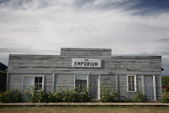 Old building at Sukinen Village - Stock Photo - Images