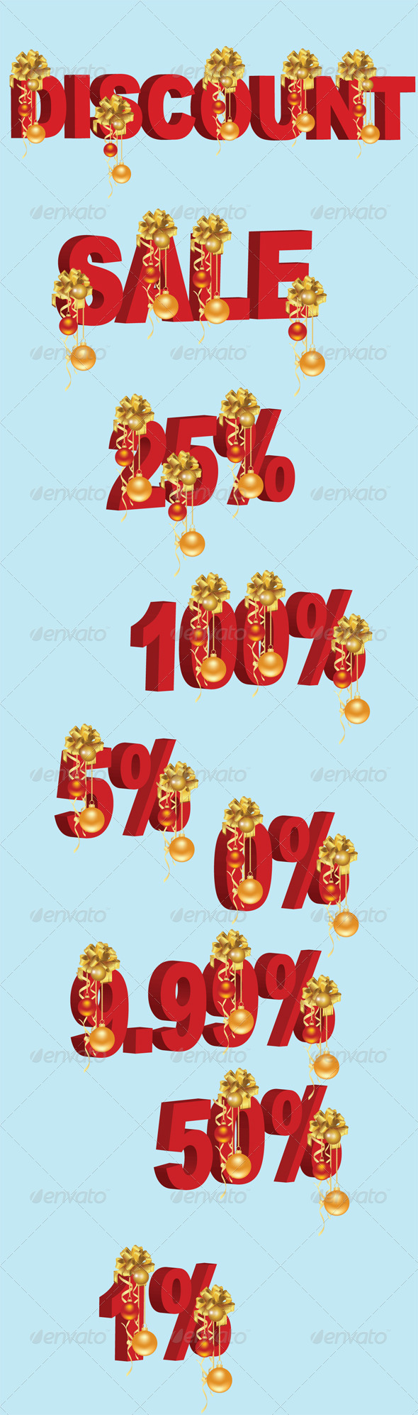 GraphicRiver Christmas Price Tag 3358778