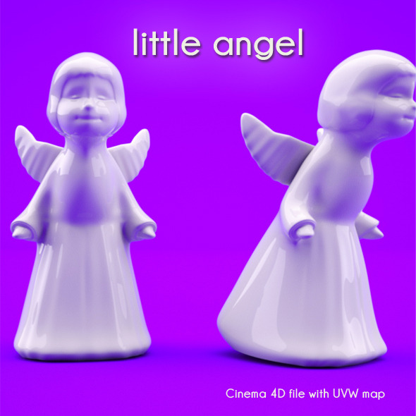 3DOcean little angel 3358862