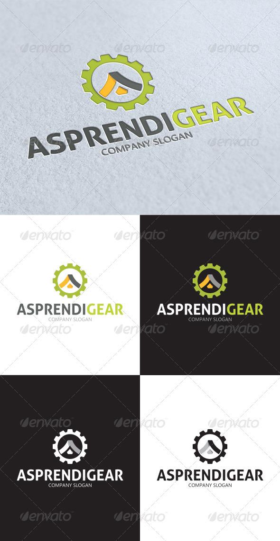 GraphicRiver Asprendi Gear A Letter Logo 3360000