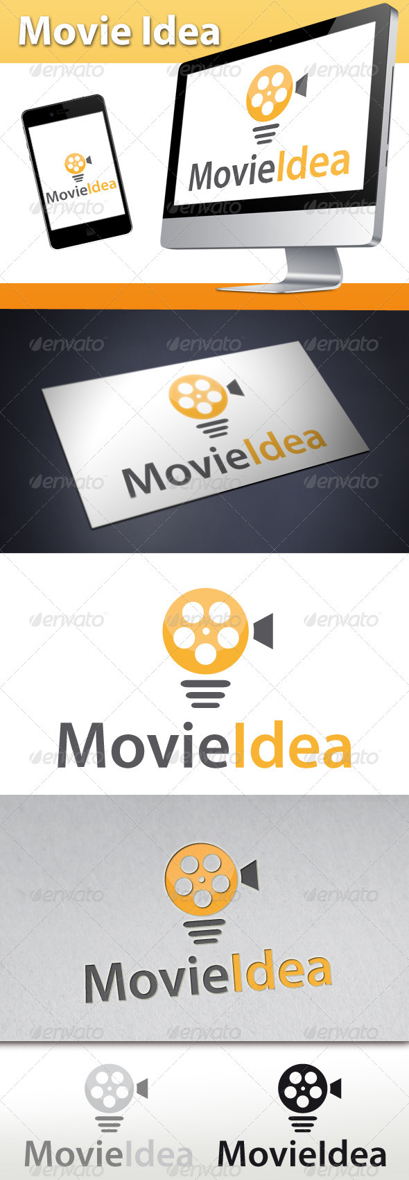 GraphicRiver Movie Idea Logo 3360613