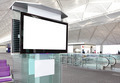 LCD TV at airport - PhotoDune Item for Sale