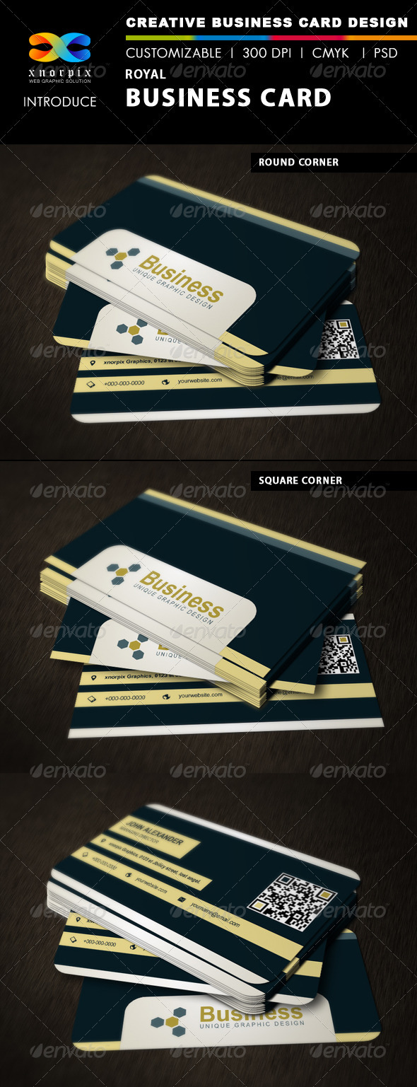 GraphicRiver Royal Business Card 3361301