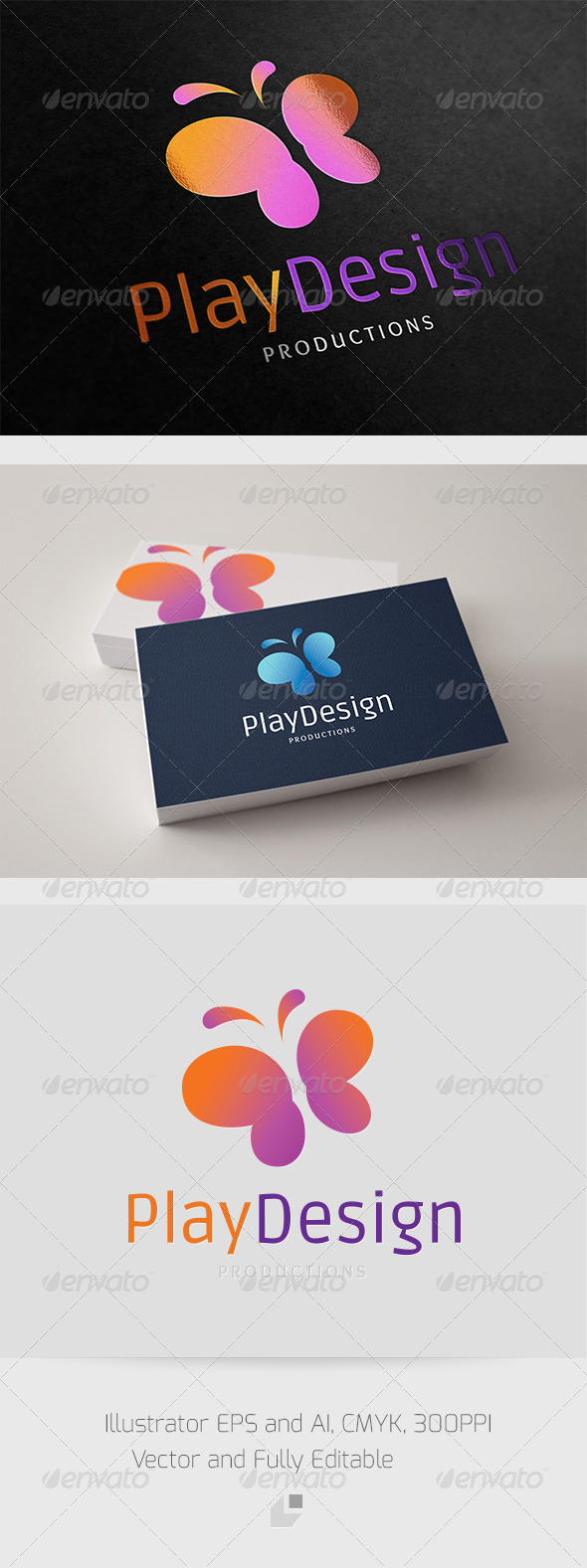 GraphicRiver Play Design Logo 3361603