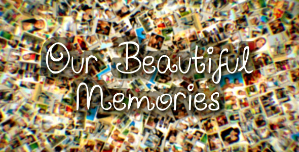 After Effects Project - VideoHive Our Beautiful Memories 3361766
