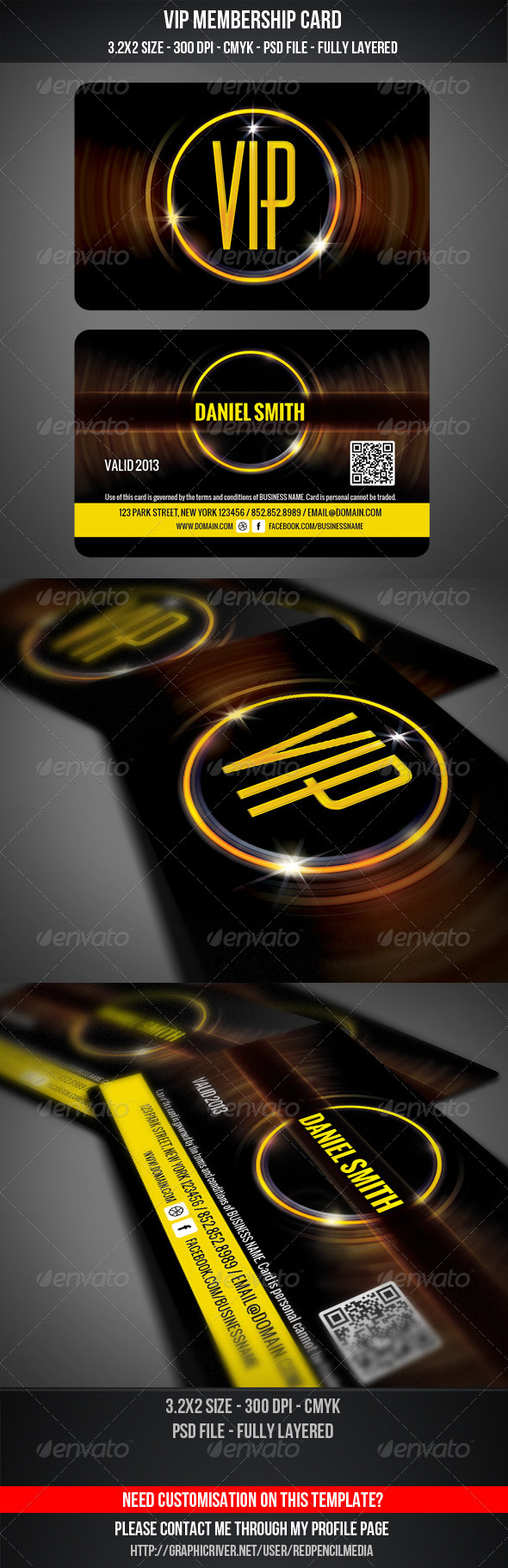 GraphicRiver VIP Membership Card 3362542