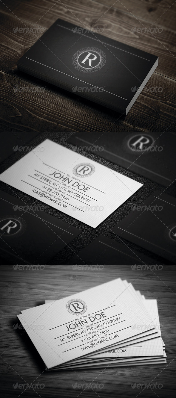 GraphicRiver Elegant Business Card 3362983