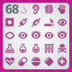 68 AI and PSD Medicine Icons - GraphicRiver Item for Sale