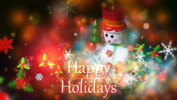 VideoHive Holidays Intro 3363124