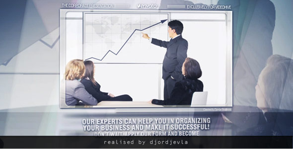After Effects Project - VideoHive The Corporate Presentation 3363435