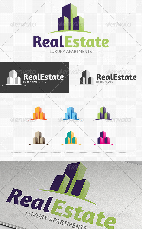 GraphicRiver Real Estate Logo 3358096