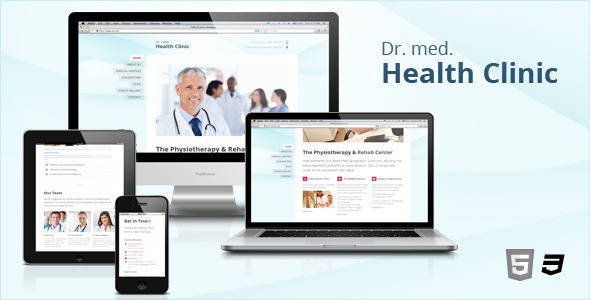 ThemeForest Doctor Dentist & Health Clinic Responsive HTML5 3331765