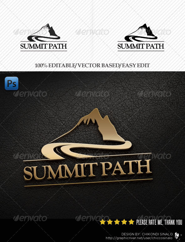 Summit Path Logo Template - Abstract Logo Templates