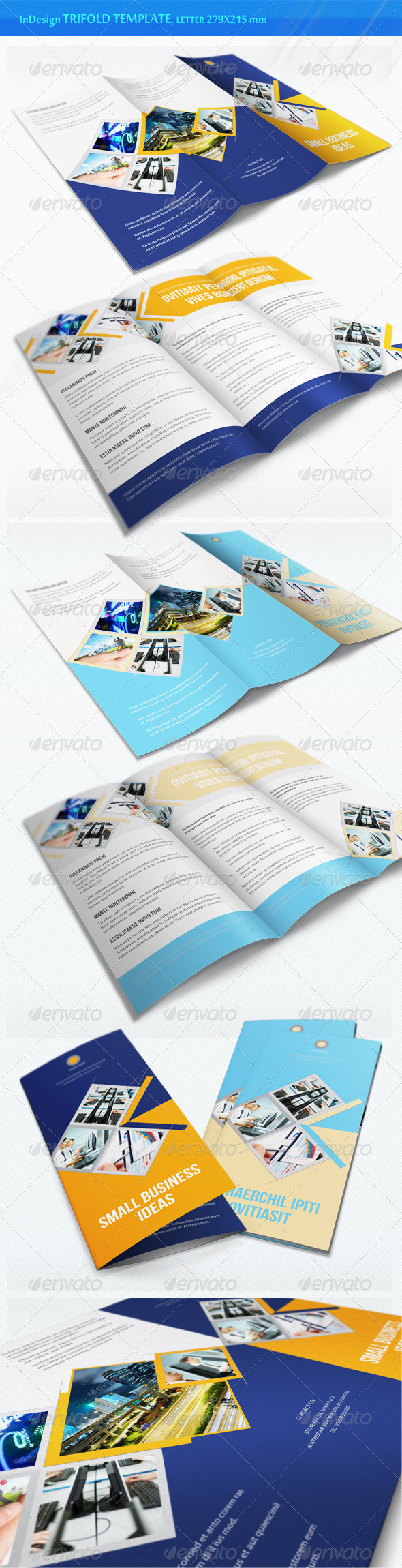 GraphicRiver Business Trifold Brochure v5 3365163
