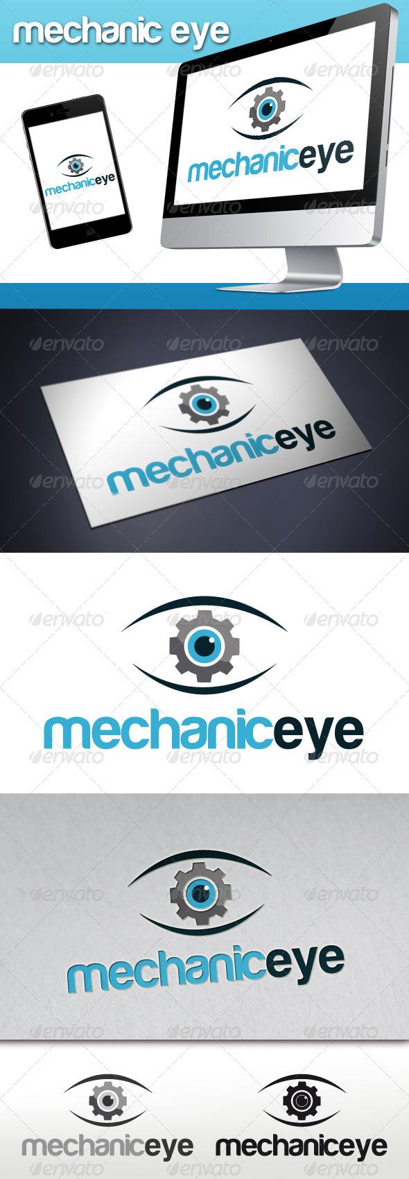 GraphicRiver Mechanic Eye Logo 3365254