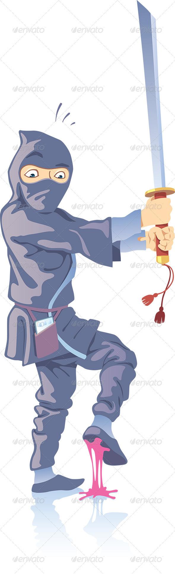 GraphicRiver Ninja Confused 3366286