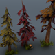 Low Poly Forest Pack part 2 - 3DOcean Item for Sale